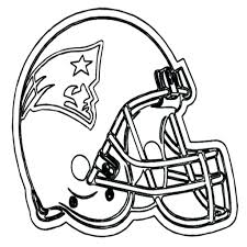 beautiful nfl coloring pages to print