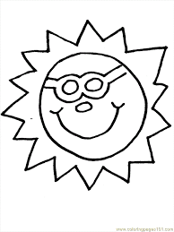 92 sun coloring pages lovely sun coloring 66 print
