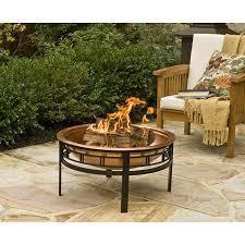 amazon com cobraco copper mission fire pit fbcopmisn c garden