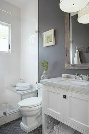 gray and white bathroom ideas gorgeous gray and white bathroom at 17 classic bathrooms home