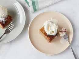 slow cooker banana upside down cake recipe food network kitchen