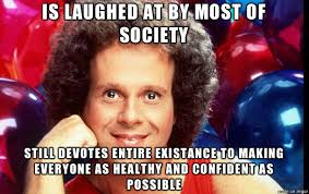 Richard Simmons Memes - richard simmons been working out with him for years on and off