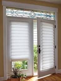 window treatments for patio doors roman blinds can be made up to 3mtrs wide with a headrail system
