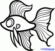 how to draw a fish for kids drawing how to draw fish and colour