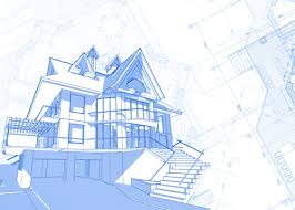house building house building blueprint design vector 03 vector background free