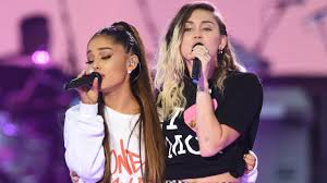 Miley Cyrus Backyard Sessions Download Watch Ariana Grande U0026 Miley Cyrus Cover Crowded House At