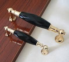 Modern Kitchen Cabinets Handles by Modern Glass Dresser Drawer Handles Gold Black Pulls Chrome