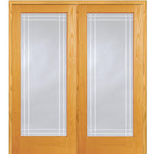 Home Depot Pre Hung Interior Doors by Mmi Door 74 In X 81 75 In Unfinished Pine Half Louver 1 Panel