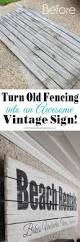 20 favorite diy projects get your diy on vintage signs