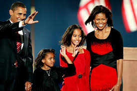 obama s obama girls see new digs ny daily news