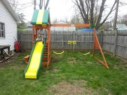 Backyard Adventures Price List Backyard Discovery Weston Cedar Swing Set Walmart Com