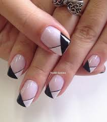 65 winter nail art ideas blush color lights and black