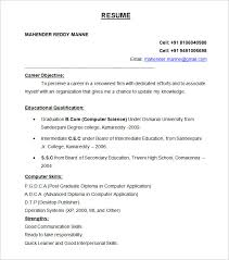 resume format exles for resume format learnhowtoloseweight net