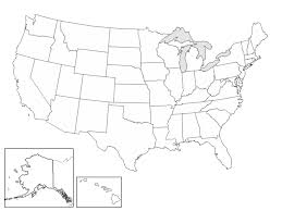 empty usa map us map state outlines blank maps of usa us map states blank