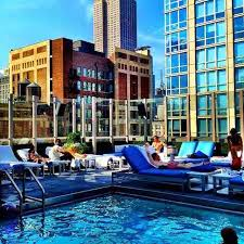 The United Nations Dining Room And Rooftop Patio How To Sneak Into Nyc Hotels With Rooftop Pools To Cool Off