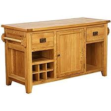 kitchen island vancouver besp oak vancouver oak kitchen island vxd006a amazon co uk kitchen