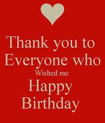 best 25 thanks for birthday wishes ideas on birthday