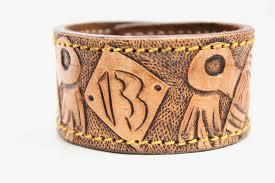 leather cuff wrap bracelet images Rockabilly leather bracelet leather cuff cuff wrap custom and jpg