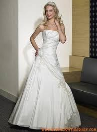 izidress robe de mari e gown empire strapless sweetheart chiffon satin wedding
