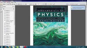 download halliday fundamentals of physics 9th edition and solution