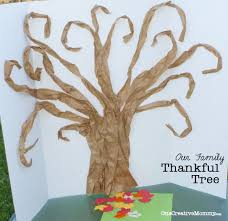 Thankful Tree Craft For Kids - thankful tree tutorial onecreativemommy com