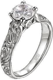 engraving engagement ring engagement ring with caesar engraving m1121rd10