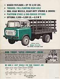jeep fc 170 1960 willys jeep fc 170 dual wheel platform stake truck flickr
