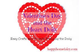 heart doily s day and the heart doily happy home fairy