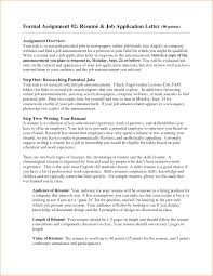 Job Application Resume Format by Job Application Resume Format