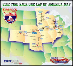 Race Map Of America by One Lap A Primer