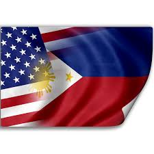 Flag Philippines Picture Amazon Com Sticker Decal With Flag Of Philippines And Usa