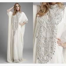 abaya wedding dress dubai kaftan pakistan abaya high neck wedding dresses with three