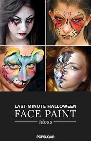 15 awesome last minute halloween face paint ideas halloween face