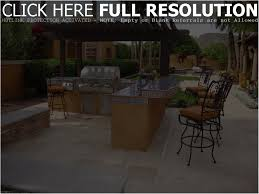 backyards cozy backyard kitchen design arizona outdoor kitchens