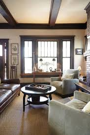 traditional craftsman house plans living room awesome luxury craftsman living room with beams