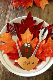 thanksgiving diy crafts paper plate turkey craft place setting