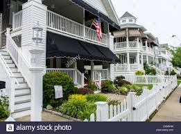 ocean city new jersey usa front wooden houses with white