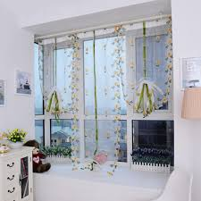 Butterfly Kitchen Curtains White Sheer Cute Butterfly Curtain With Impressive Wall Paint