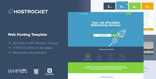download free hostrocket u2013 responsive whmcs u0026 html template