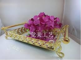 wedding serving trays fashion decorative metal tray mirror tray wedding