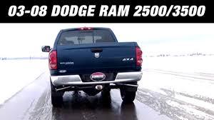 Dodge Ram Cummins Performance Parts - 2003 2008 dodge ram 2500 3500 5 7l cat back exhaust system kit