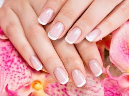 how to do a french manicure at home without guide strips nail