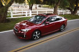 subaru red the 2017 subaru impreza will come in two body configurations a