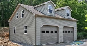 Building A 2 Car Garage by Dormer Roof Garages Garage Dormer Horizon Structures