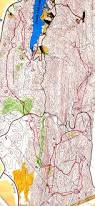 Oak Mountain State Park Trail Map by 1985