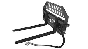 skid steer hydraulic pallet forks frame by cid attachments