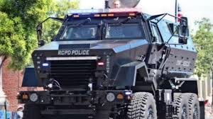 armored vehicles san bernardino shooting reignites debate over police use of