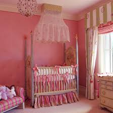 Girls Pink Chandelier Baby Nursery Captivating Decorations Wiith Baby Nursery
