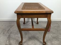 Star Furniture Outdoor Furniture by Side Table With Cane Top French Walnut Star Furniture Co Jamestown Ny