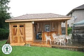 garden sheds with patio interior design